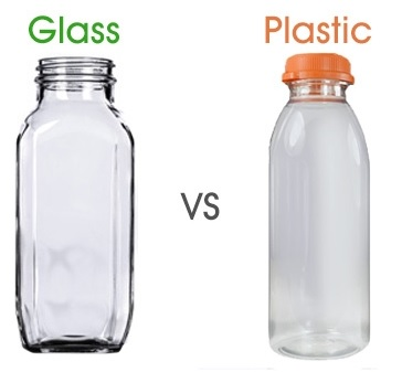 Glass vs Plastic